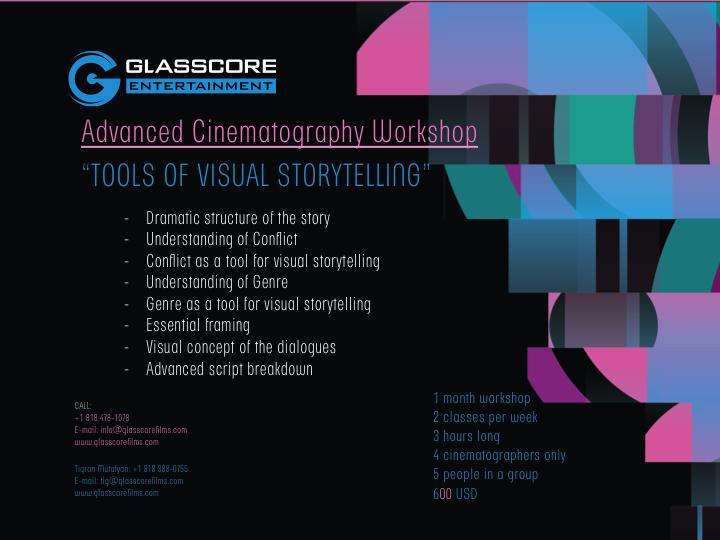 Glasscore – Cinematography workshop